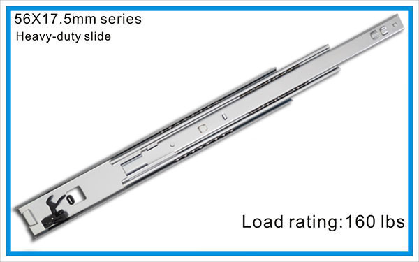 Heavy duty drawer slide