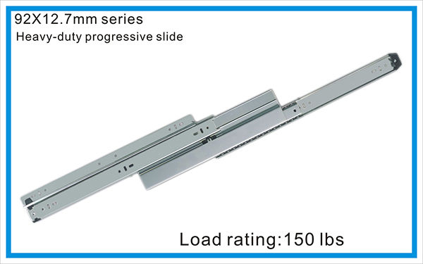 Heavy duty progressive slide